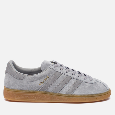 Кроссовки adidas Originals Munchen Heather Solid Grey/Solid Grey/Gum