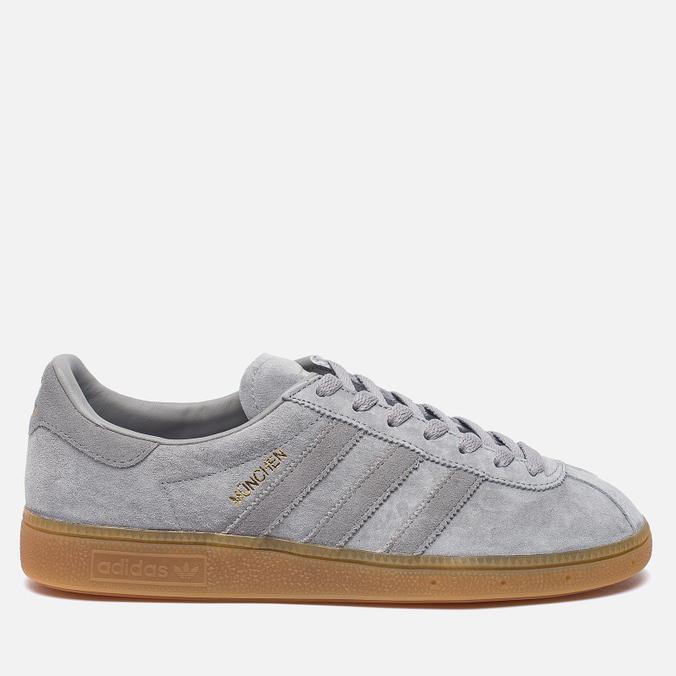 Кроссовки adidas Originals Munchen Heather Solid Grey/Solid Grey/Gum