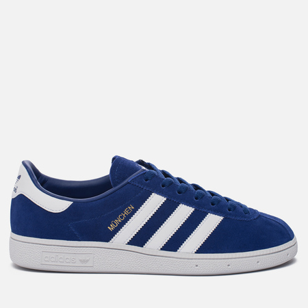 Кроссовки adidas Originals Munchen Mysterios Ink/White/Gold Metallic/Black