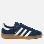 Кроссовки adidas Originals Munchen Collegiate Navy/White/Gum фото- 0