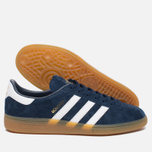 Кроссовки adidas Originals Munchen Collegiate Navy/White/Gum фото- 2