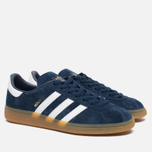 Кроссовки adidas Originals Munchen Collegiate Navy/White/Gum фото- 1