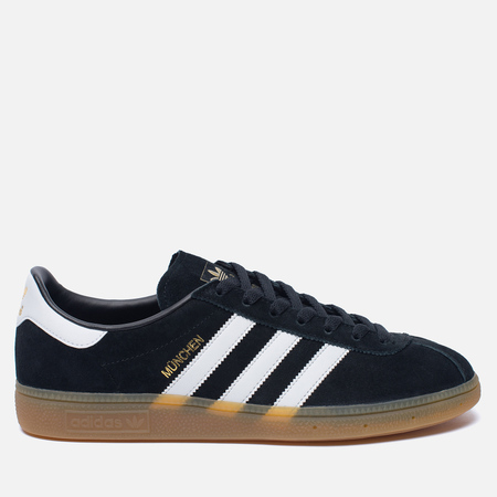 Кроссовки adidas Originals Munchen Core Black/White/Gum
