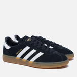 Кроссовки adidas Originals Munchen Core Black/White/Gum фото- 2