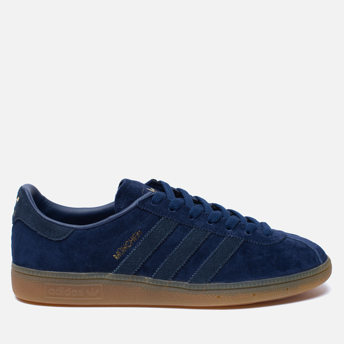 Кроссовки adidas Originals Munchen Dark Blue/Navy/Gum