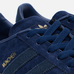 Кроссовки adidas Originals Munchen Dark Blue/Navy/Gum фото- 5