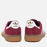 Кроссовки adidas Originals Munchen Collegiate Burgundy/White/Gum фото- 3