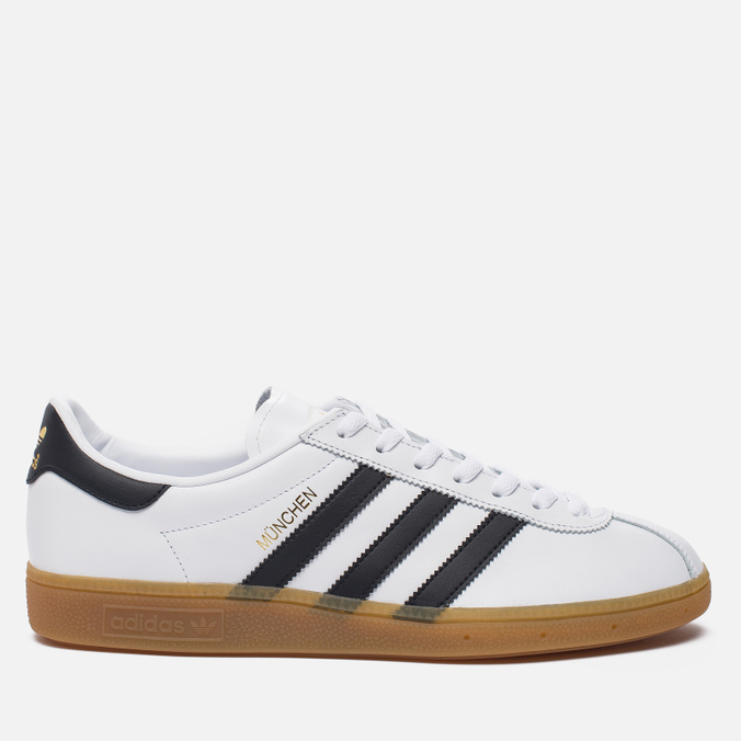 Кроссовки adidas Originals Munchen White/Core Black/Gum
