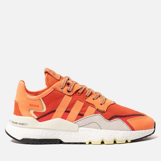 Кроссовки adidas Originals Nite Jogger Amber Tint/Orbit Grey/Hi-Res Red