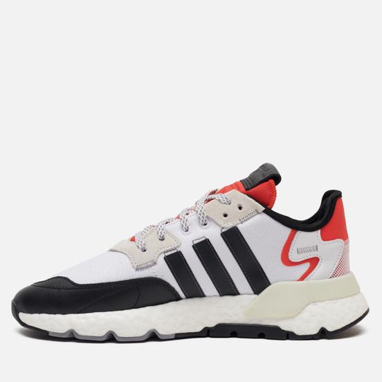 Кроссовки adidas Originals Nite Jogger Cloud White/Core Black/Hi-Res Red
