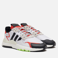 Кроссовки adidas Originals Nite Jogger Cloud White/Core Black/Hi-Res Red