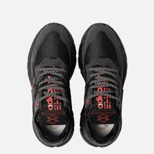 Кроссовки adidas Originals Nite Jogger Core Black/Core Black/Silver Metallic фото- 1
