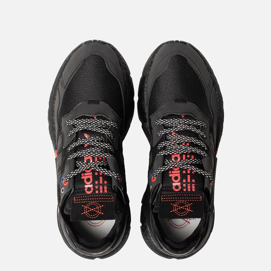 Кроссовки adidas Originals Nite Jogger Core Black/Core Black/Silver Metallic