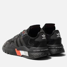 Кроссовки adidas Originals Nite Jogger Core Black/Core Black/Silver Metallic фото- 2