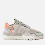 Кроссовки adidas Originals Nite Jogger Raw White/Grey One/Vapour Green фото- 0