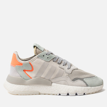 Кроссовки adidas Originals Nite Jogger Raw White/Grey One/Vapour Green фото- 3