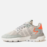Кроссовки adidas Originals Nite Jogger Raw White/Grey One/Vapour Green фото- 1