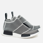 Кроссовки adidas Originals NMD City Sock Boost Primeknit Reflective Black/Off White фото- 1