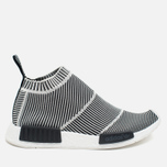 Кроссовки adidas Originals NMD City Sock Boost Primeknit Reflective Black/Off White фото- 0