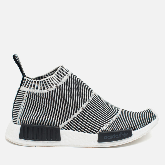 Кроссовки adidas Originals NMD City Sock Boost Primeknit Reflective Black/Off White