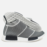 Кроссовки adidas Originals NMD City Sock Boost Primeknit Reflective Black/Off White фото- 2