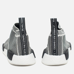 Кроссовки adidas Originals NMD City Sock Boost Primeknit Reflective Black/Off White фото- 4