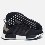 Кроссовки adidas Originals NMD R1 Cargo Pack Black/White фото- 1