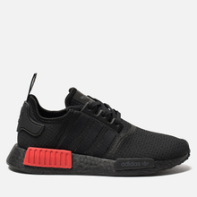 Кроссовки adidas Originals NMD R1 Core Black/Core Black/Lush Red фото- 3