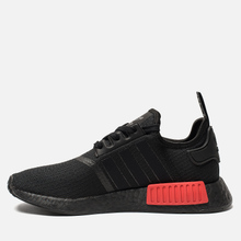 Кроссовки adidas Originals NMD R1 Core Black/Core Black/Lush Red фото- 5