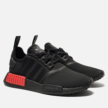 Кроссовки adidas Originals NMD R1 Core Black/Core Black/Lush Red фото- 0