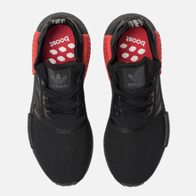 Кроссовки adidas Originals NMD R1 Core Black/Core Black/Lush Red фото- 1