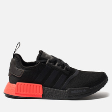 Кроссовки adidas Originals NMD_R1 Core Black/Core Black/Solar Red фото- 0