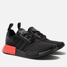 Кроссовки adidas Originals NMD_R1 Core Black/Core Black/Solar Red фото- 2