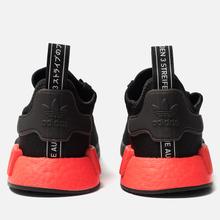 Кроссовки adidas Originals NMD_R1 Core Black/Core Black/Solar Red фото- 3