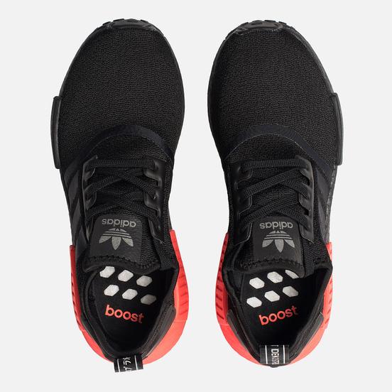 Кроссовки adidas Originals NMD_R1 Core Black/Core Black/Solar Red