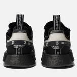 Кроссовки adidas Originals NMD_R1 Core Black/Core Black/White фото- 3