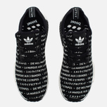Кроссовки adidas Originals NMD R1 Core Black/Running White фото- 4