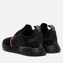 Кроссовки adidas Originals NMD_R1 Core Black/Solar Red фото- 2