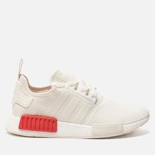 Кроссовки adidas Originals NMD R1 Off White/Off White/Lush Red фото- 3