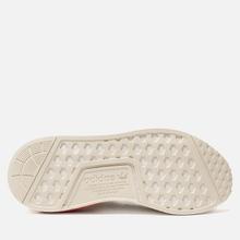 Кроссовки adidas Originals NMD R1 Off White/Off White/Lush Red фото- 4