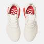 Кроссовки adidas Originals NMD R1 Off White/Off White/Lush Red фото - 1