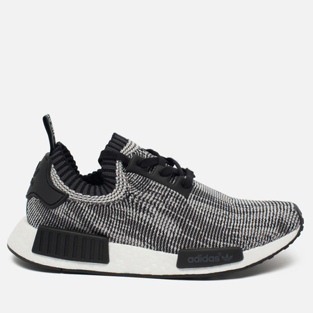 adidas Originals NMD R1 Primeknit Sneakers Core Black/White