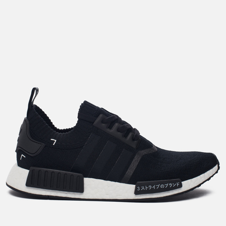 Кроссовки adidas Originals NMD R1 Primeknit Japan Pack Core Black/White