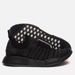Кроссовки adidas Originals NMD R1 Primeknit STLT Core Black/Utility Black/Solar Pink фото- 2
