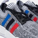 Кроссовки adidas Originals NMD R1 Primeknit Tri-Color White/Core Red/Core Black фото- 5