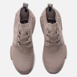 Кроссовки adidas Originals NMD R1 Primeknit Vapour Green/White фото- 4
