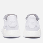 Кроссовки adidas Originals NMD R1 Reflective Triple White фото- 3