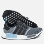 Кроссовки adidas Originals NMD R1 Runner Black/White/Clear Blue фото- 2