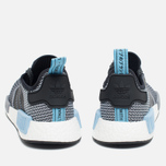 Кроссовки adidas Originals NMD R1 Runner Black/White/Clear Blue фото- 3