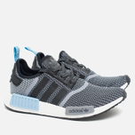 Кроссовки adidas Originals NMD R1 Runner Black/White/Clear Blue фото- 1